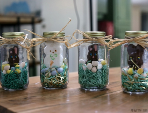 Easy Bunny Jars to Celebrate Easter