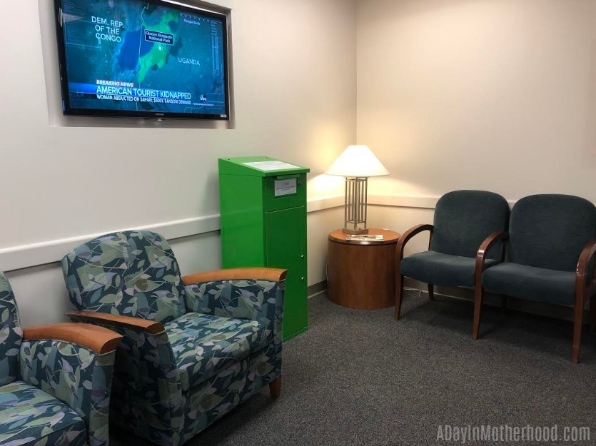 Dispose of Medications Properly in the waiting area