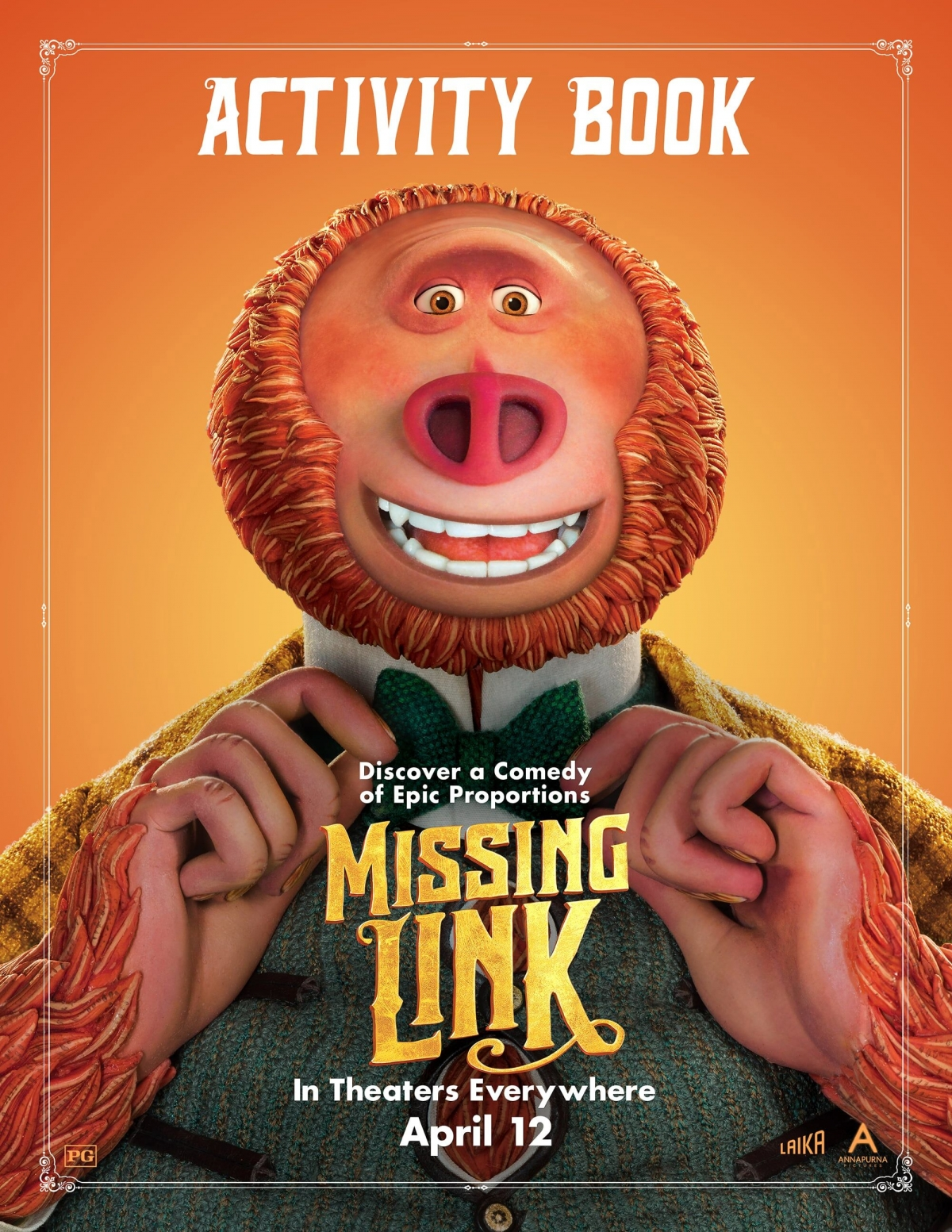 WIN a MISSING LINK Prize Pack and an activity pack