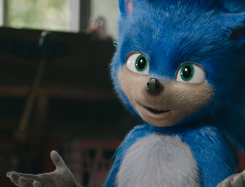 SONIC THE HEDGEHOG! is in Theaters November 8
