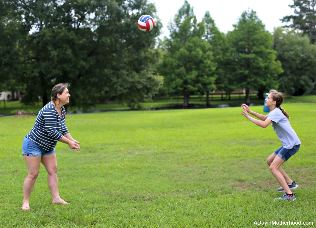 Summer Memories: Bringing the Past and My Grandmother Back to Life for volleyball