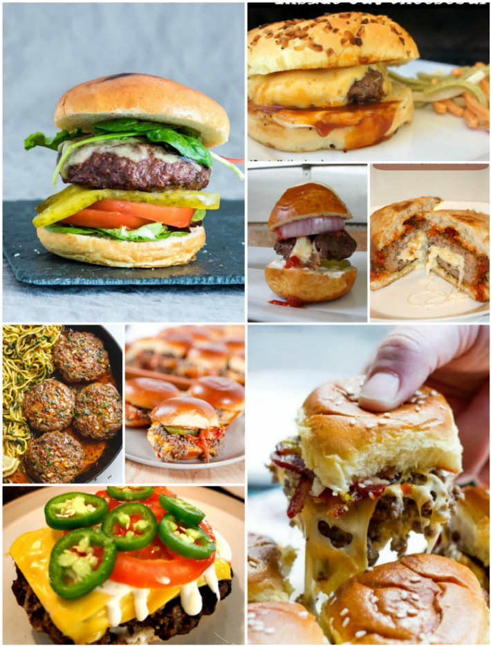 Burgers for your summer grilling