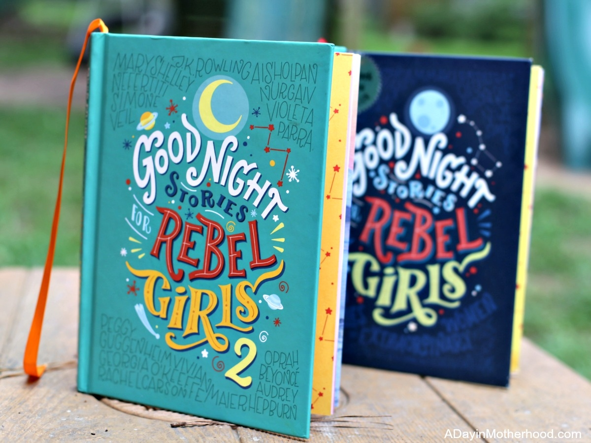 Our Bedtime Routine Includes Inspiration from Rebel Girls books