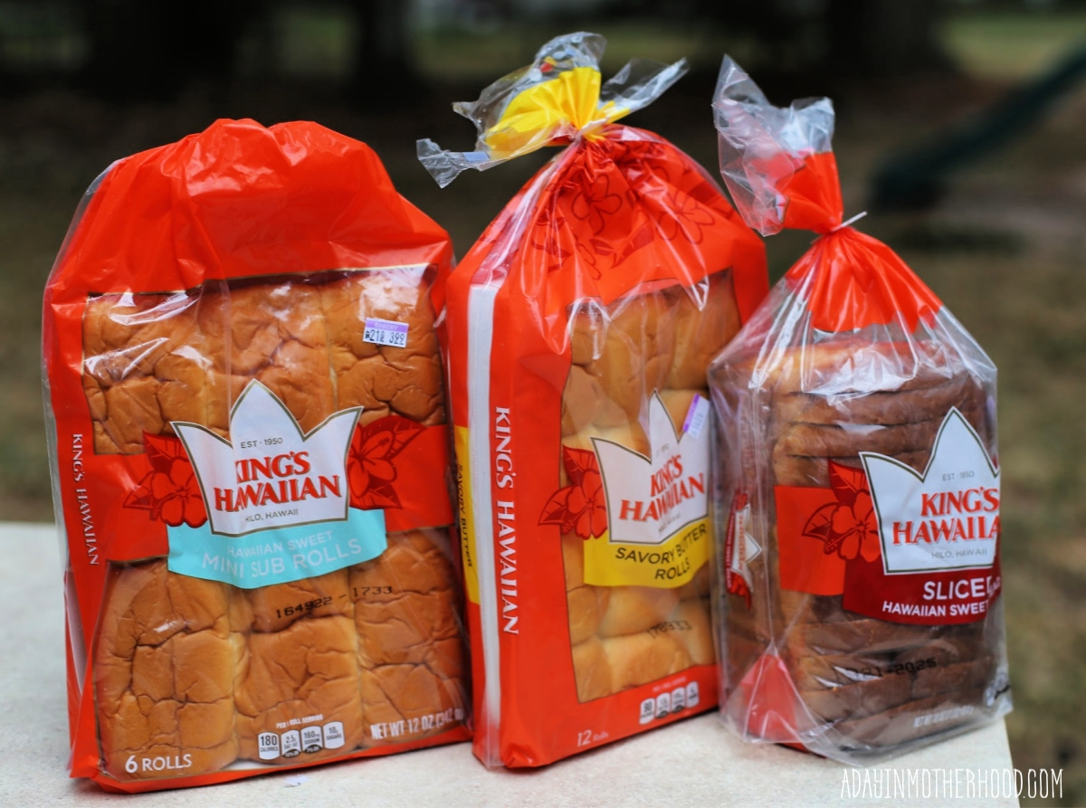 Teriyaki Chicken Sandwiches are a Must for Lunch Boxes Everywhere and King's Hawaiian is the bread to use