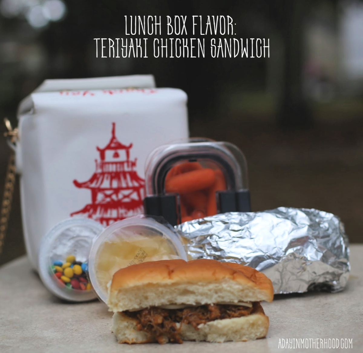 Teriyaki Chicken Sandwiches are a Must for Lunch Boxes Everywhere with yum!