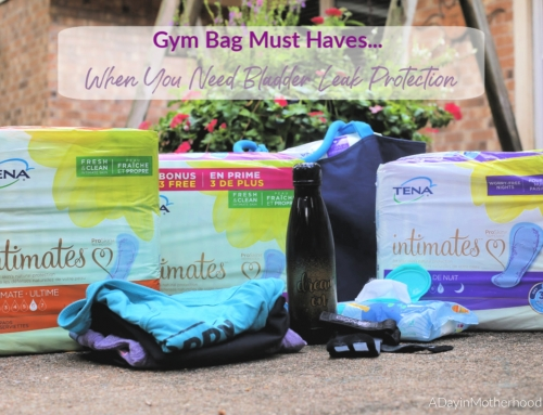 Gym Bag Must Haves When You Need Bladder Leak Protection