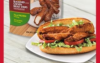 Tyson Blackened Chicken Strips are for dinner!