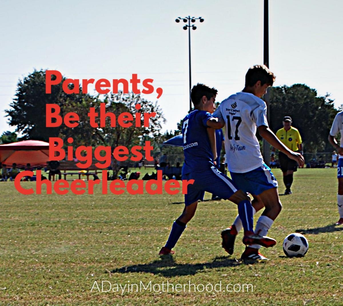 Kids that have cheerleader parents have higher self esteem