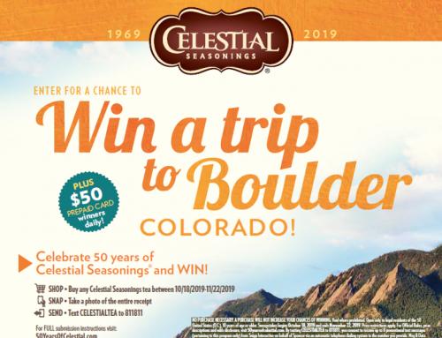 WIN a Trip to Boulder, Colorado