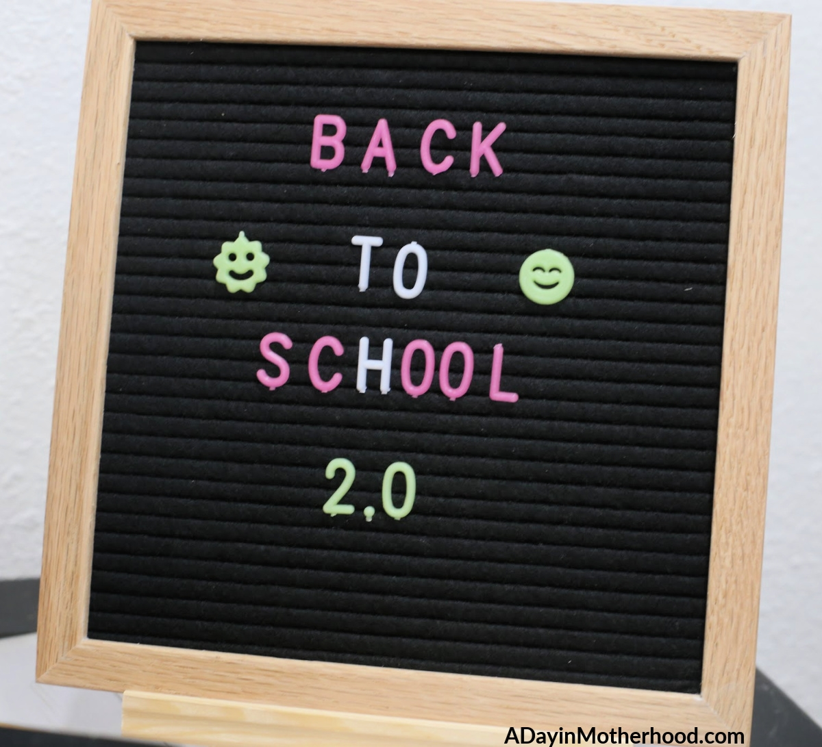 Back to School Organization 2.0 is a real thing for any busy family!