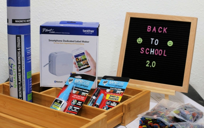 Back to School Organization 2.0 - win all of this great stuff to help you get re-organized
