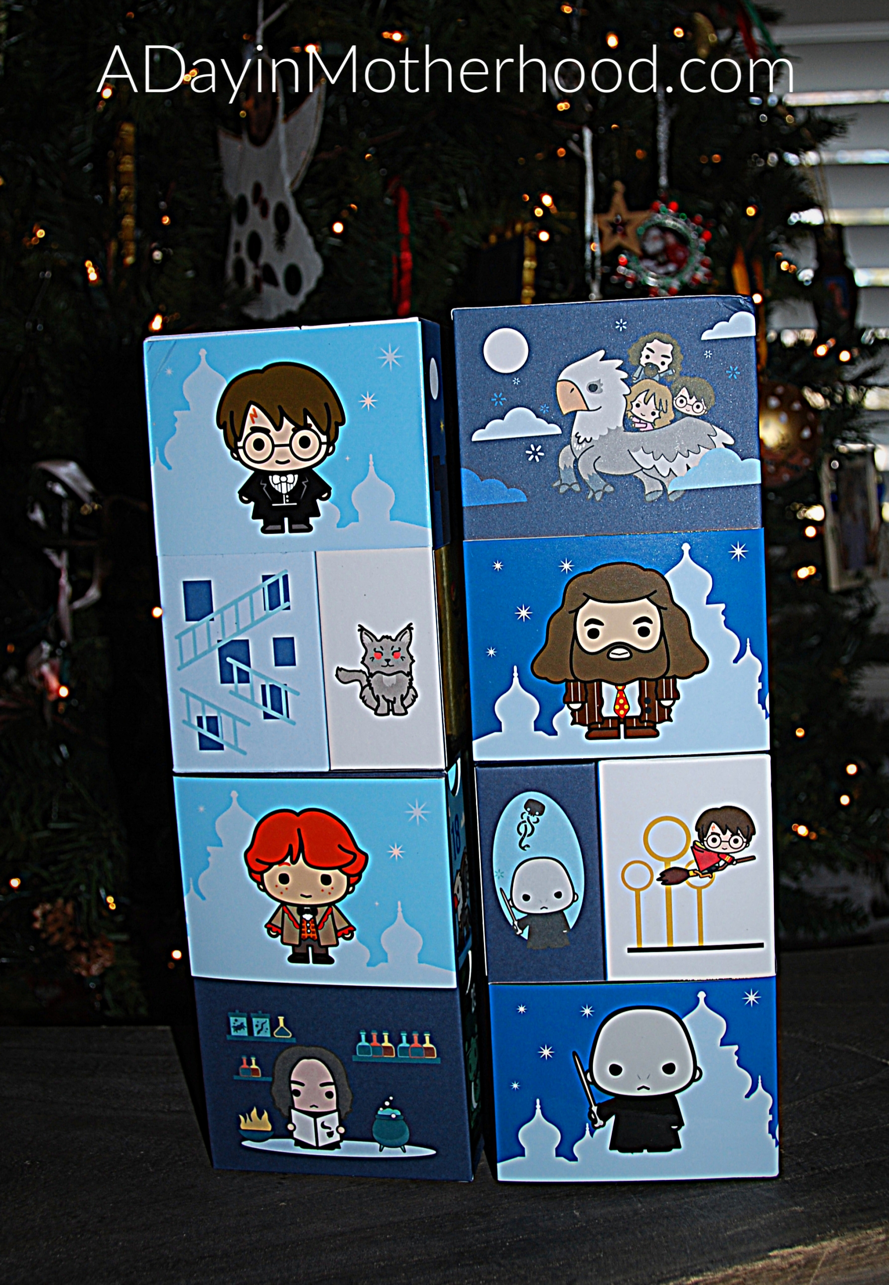 Harry Potter the Infinity Box-photo of front of toy on ADayinMotherhood.com