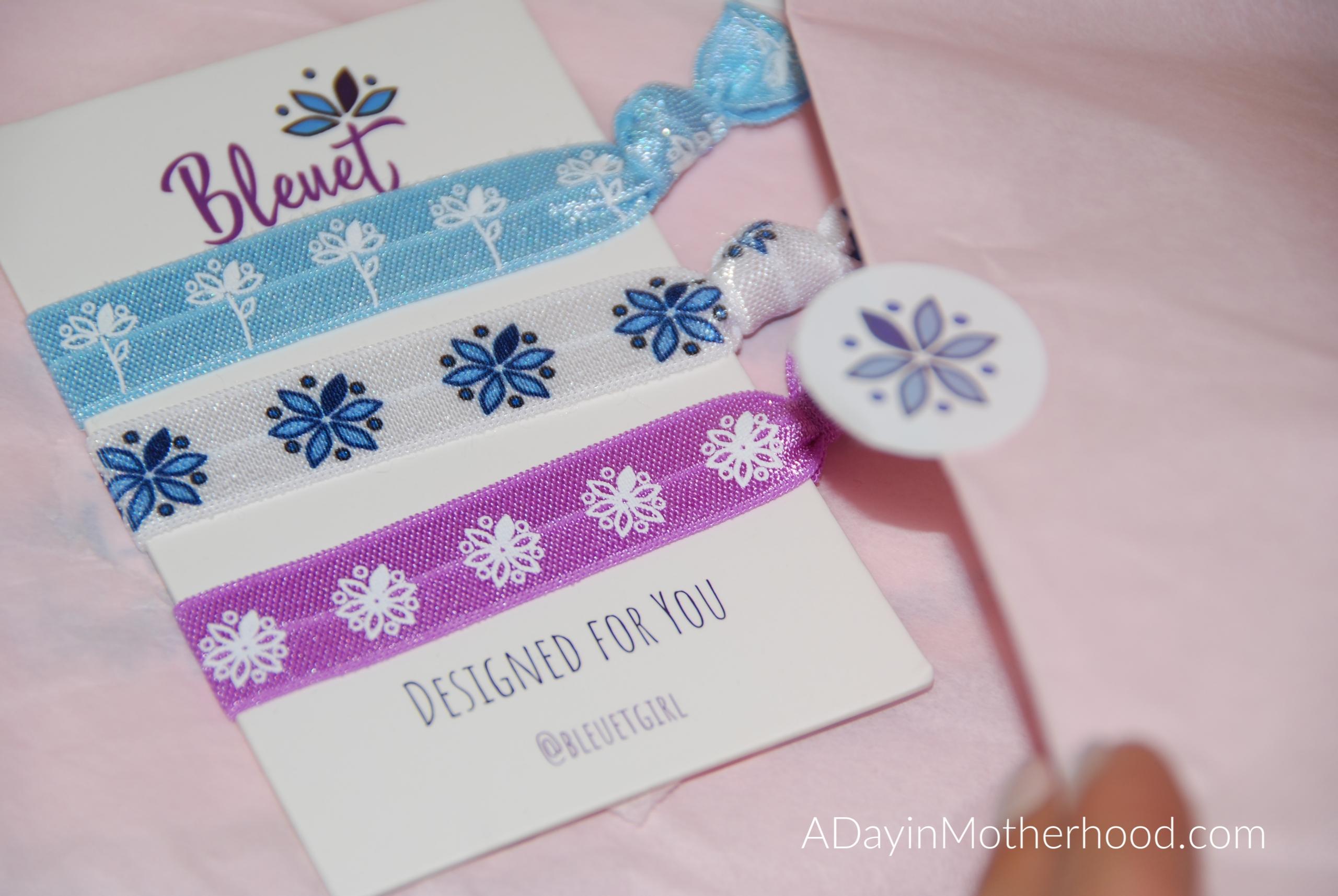 Bleuet-A Better Bra for Tweens and Teens-photo of packaging on ADayinMotherhood.com