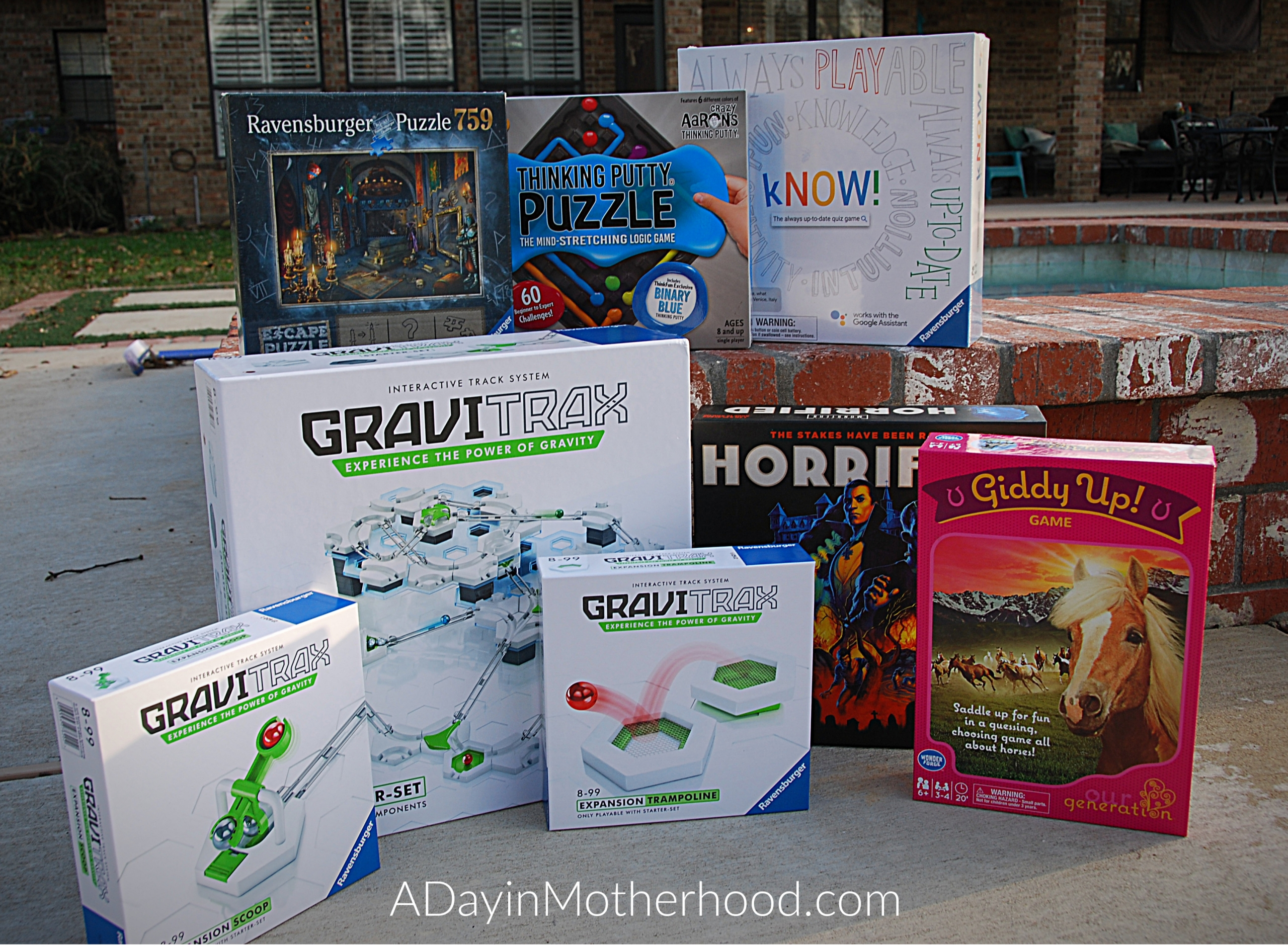 Gifts That Will Rock Into The New Year-photo of game collection on ADayinMotherhood.com