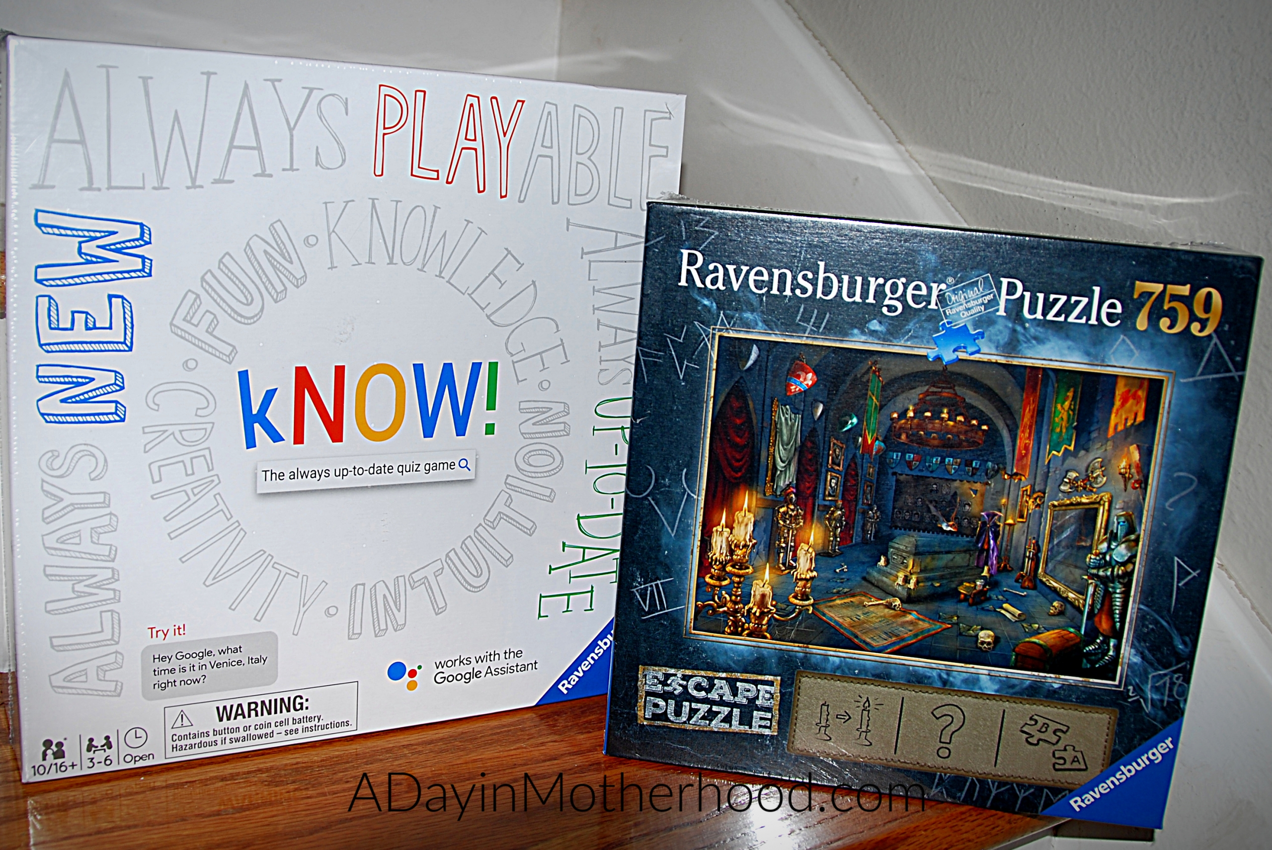 Gifts That Will Rock Into The New Year-a photo of 2 board games on ADayinMotherhood.com